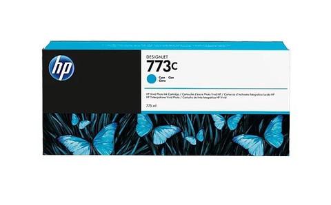 Оригинальный картридж струйный HP C1Q42A (№773C) голубой