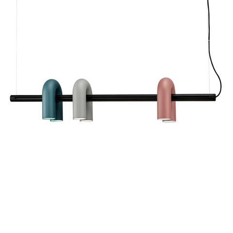 Подвесной светильник-трек Cirkus by AGO Lighting (синий/серый/розовый)