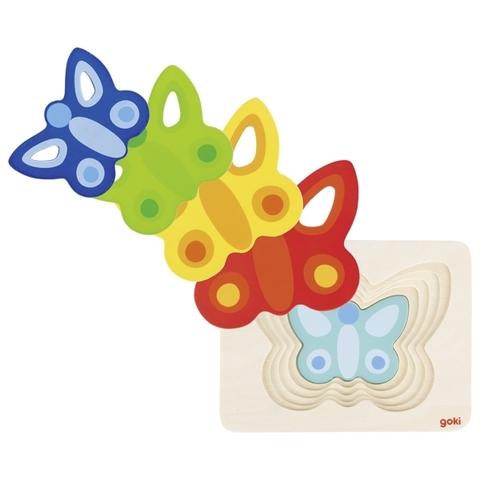 Пазл Бабочки