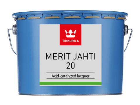 Tikkuria Merit Jahti 20/Тиккурила Мерит Яхти 20 однокомпонентный полуматовый уретано-алкидный лак для внутренних и наружных работ