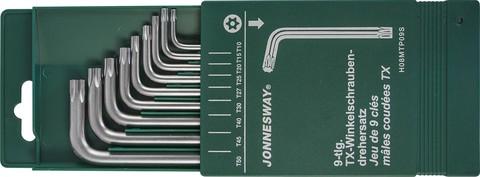H08MTP09S Набор ключей торцевых TORX® с центрированным штифтом Т10-50, 9 предметов
