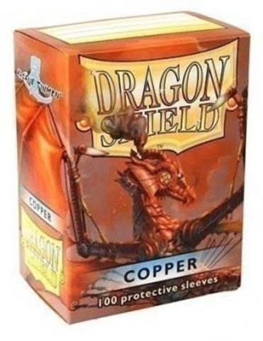 Протекторы Dragon Shield медные (100 шт.)