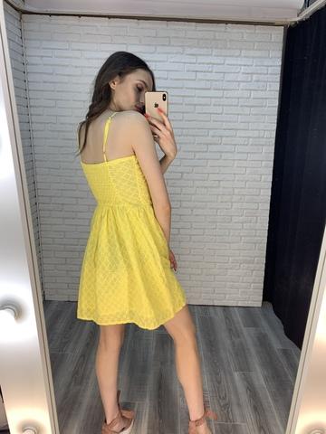 желтый сарафан недорого