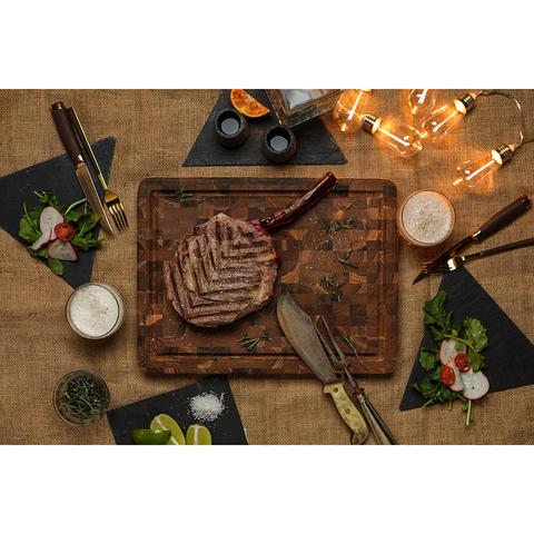 Доска разделочная торцевая Butcher Block 41x31 см