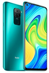 Смартфон Xiaomi Redmi Note 9 NFC 4/128GB Green (Зеленый)