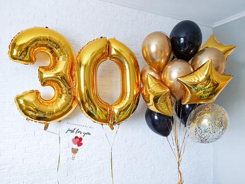 шарики на 30 лет