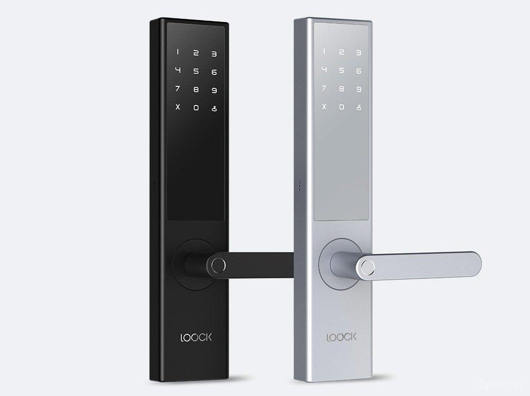 Умный дверной замок Xiaomi Loock Intelligent Fingerprint Door Lock Classic (черный)