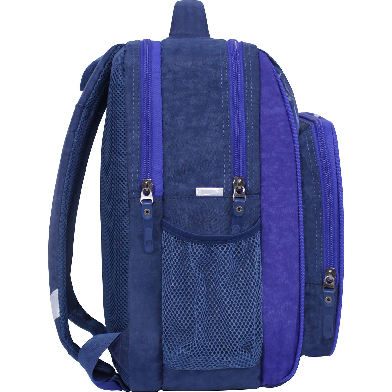 Рюкзак школьный Bagland Школьник 8 л. синий 551 (0012870) фото 2