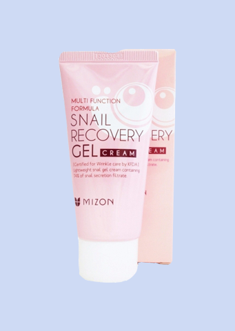Крем для лица с муцином улитки Mizon Snail Recovery Gel Cream