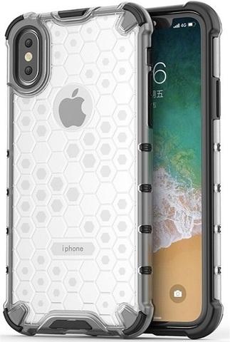 Защитный чехол на iPhone X и XS от Caseport, серия Honey, прозрачный