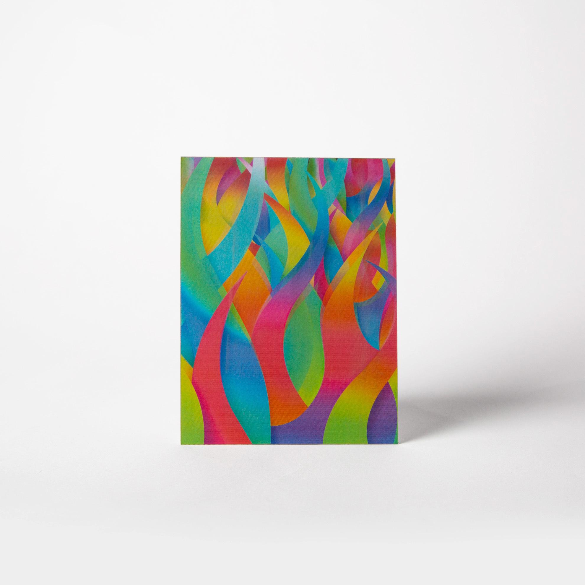 3D-открытка «Жар-птица»