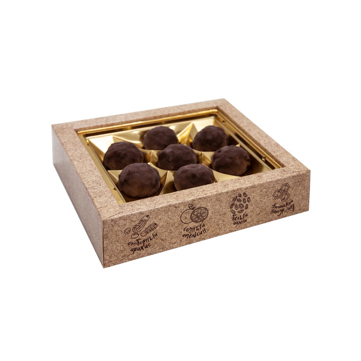 Грильяж с кедровым орехом в шоколадной глазури