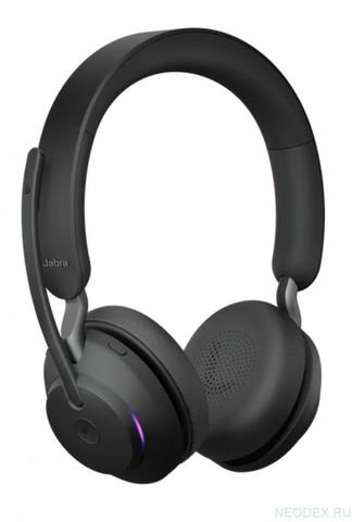 Jabra Evolve2 65 Stereo MS беспроводная гарнитура черная ( 26599-999-999 )