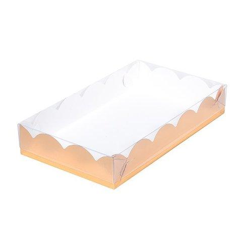 Коробка для печенья и пряников, 22*15*3,5см, (золото)