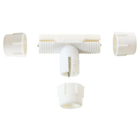 Разветвитель для сращивания и разветвления шланга дюралайт LED ленты светодиодной шнура круглова шланга лэд