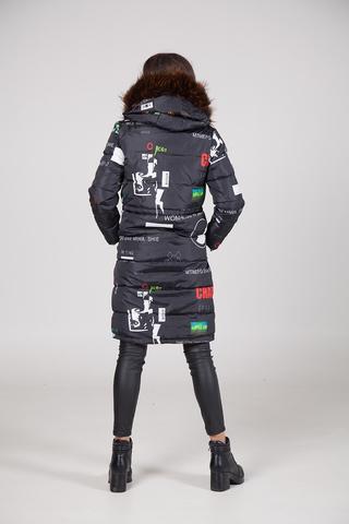 куртка утепленная женская