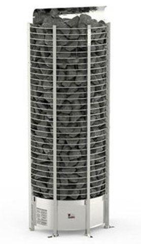 Электрическая печь SAWO TOWER TH3-45NI2-WL-P (4,5 кВт, выносной пульт, встроенный блок мощности, нержавейка, пристенная)