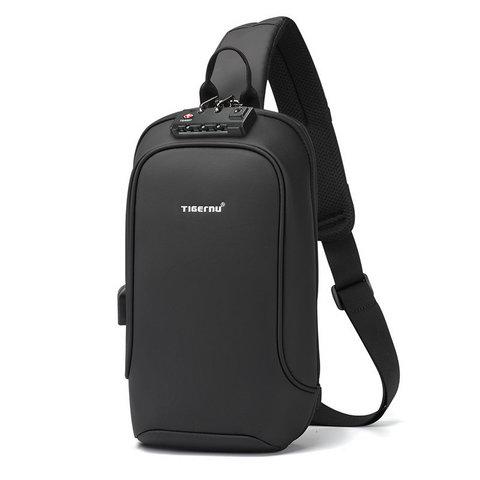 Рюкзак на одной лямке Tigernu T-S8102A черный
