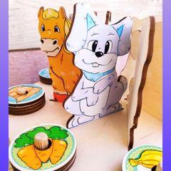 Сортер Голодные зверушки ToySib 07013