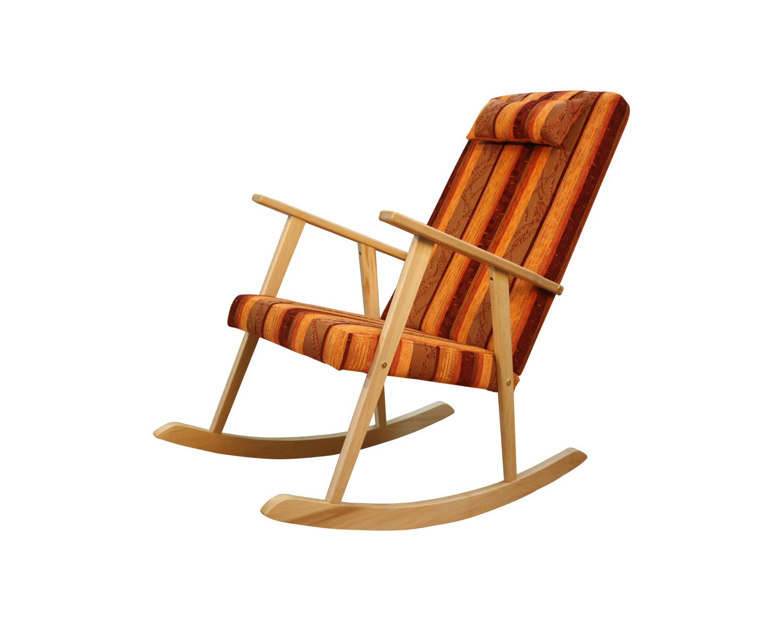 Кресло-качалка Стелси-К, цвет опор бук