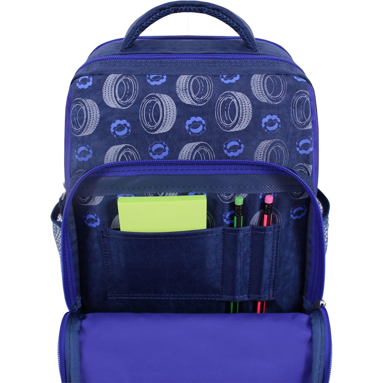Рюкзак школьный Bagland Школьник 8 л. синий 551 (0012870) фото 4