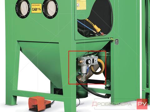 Блок подготовки воздуха для пескоструйных камер 1