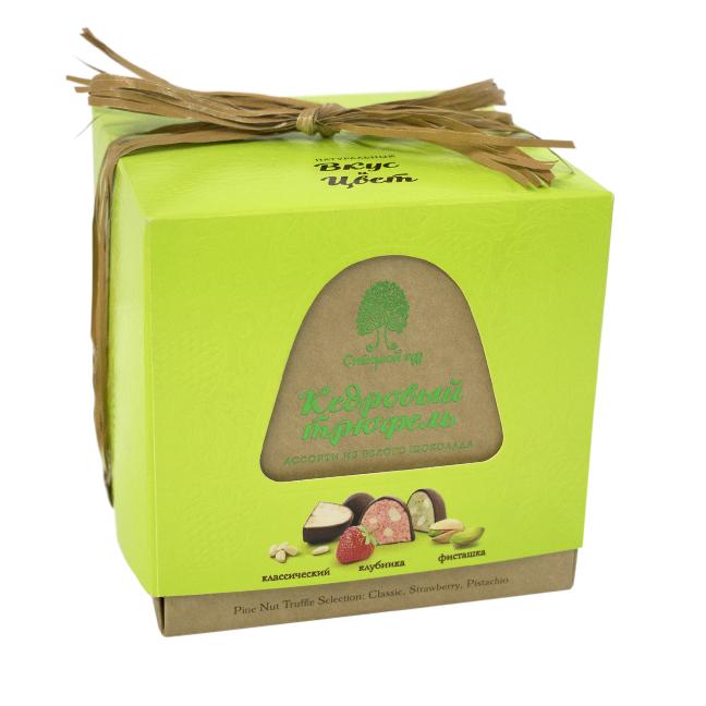 Конфеты Кедровый трюфель ассорти из белого шоколада