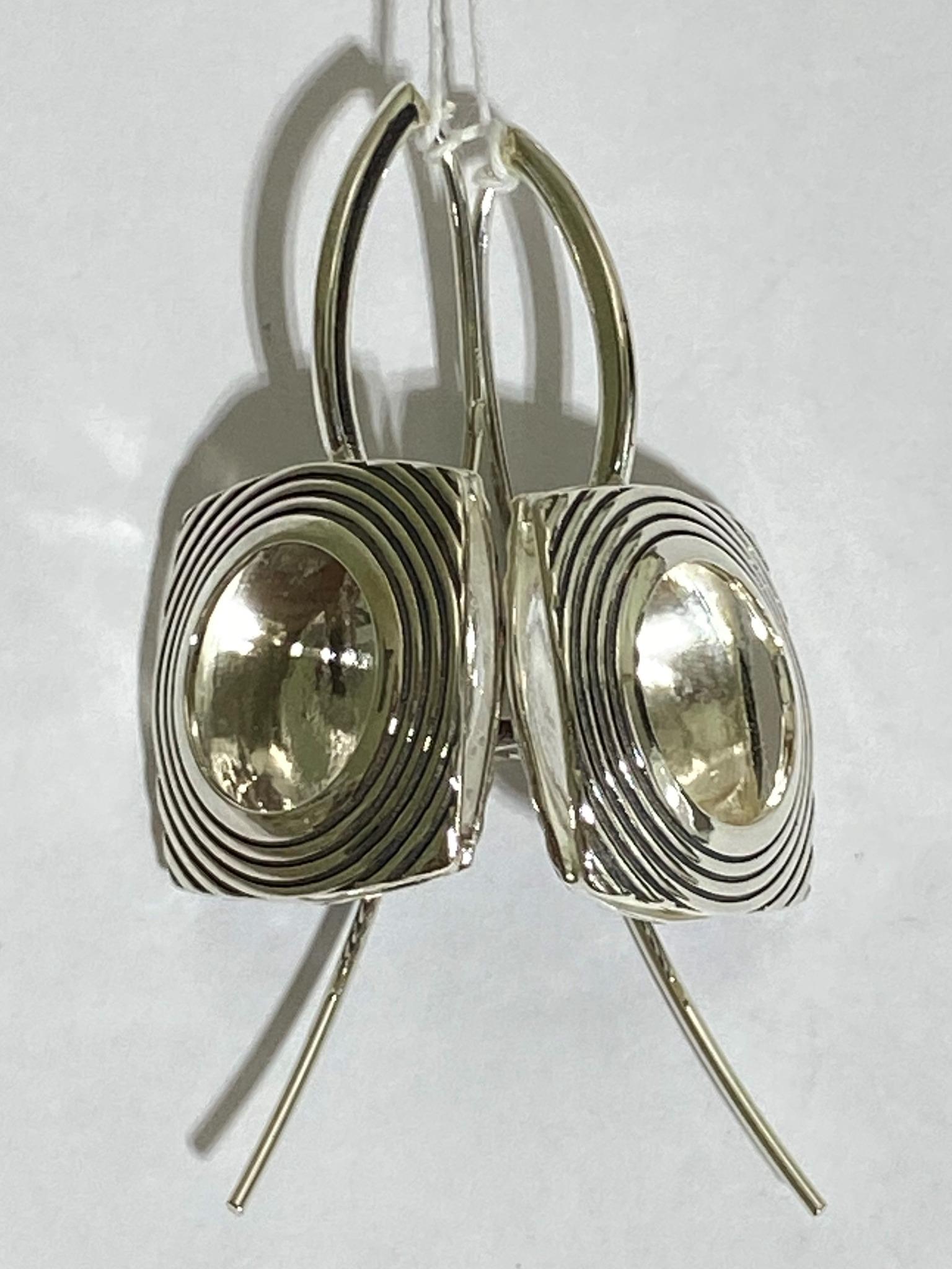Ирма (серьги из серебра)