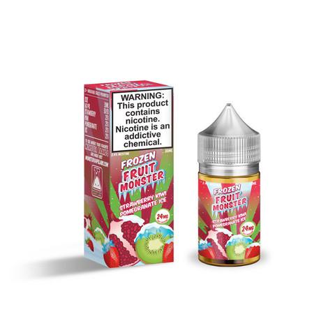 Жидкость Fruit Monster Frozen Salt 30 мл Blueberry Raspberry Lemon Ice