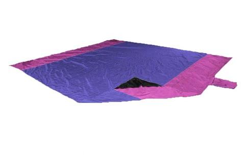 Картинка пляжное покрывало Ticket to the Moon Beach Blanket Purple/Pink - 1