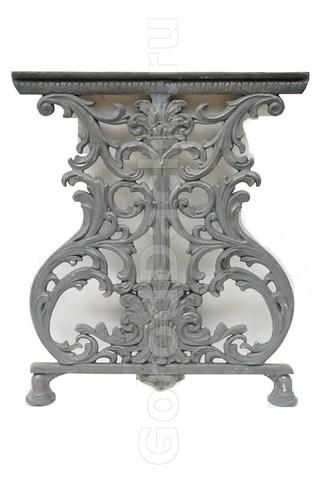 Комплект чугунных опор для стола «Ампир»