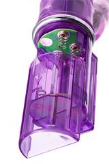 Вибратор с клиторальным стимулятором TOYFA A-Toys