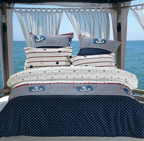 Сатиновое постельное бельё  2 спальное  В-154