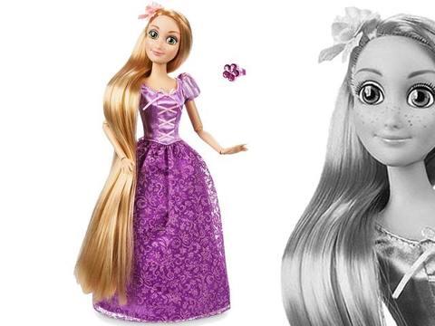 Рапунцель с кольцом, Принцесса Диснея