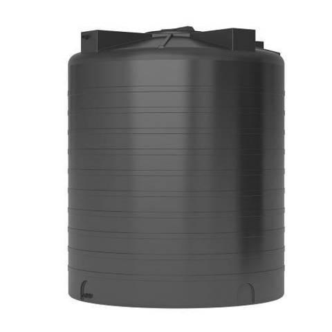 Бак для воды АКВАТЕК ATV 3000 (без поплавка, цвет черный)