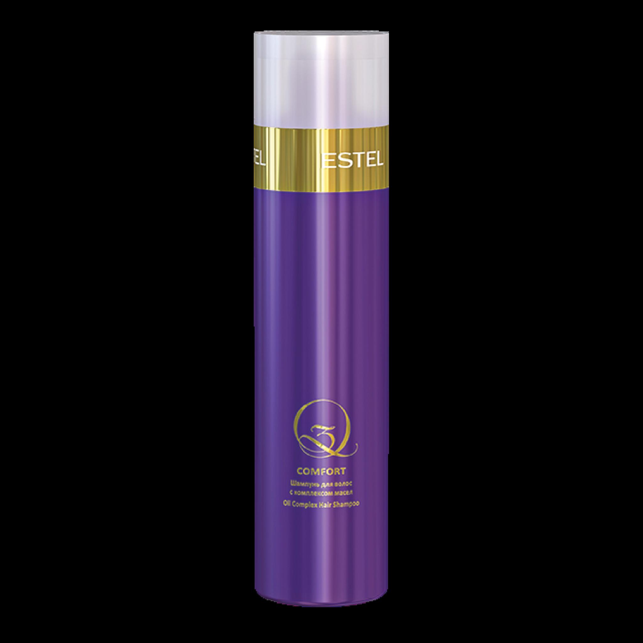 Шампунь для волос с комплексом масел Q3 COMFORT, 250 мл