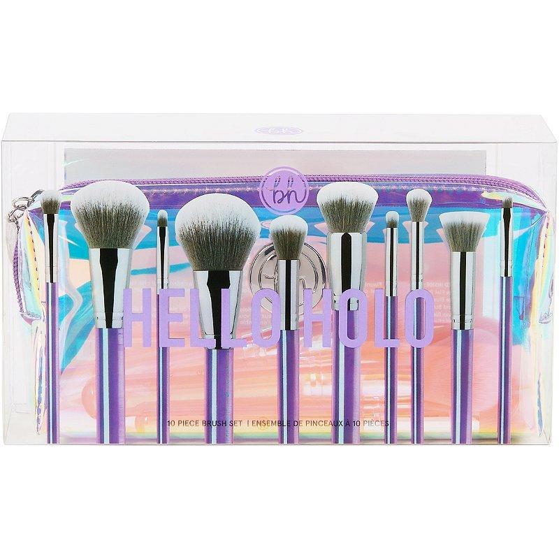 BH Cosmetics Hello Holo - 10 Piece Brush Set
