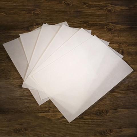 Печать на тонкой вафельной бумаге (с бумагой)