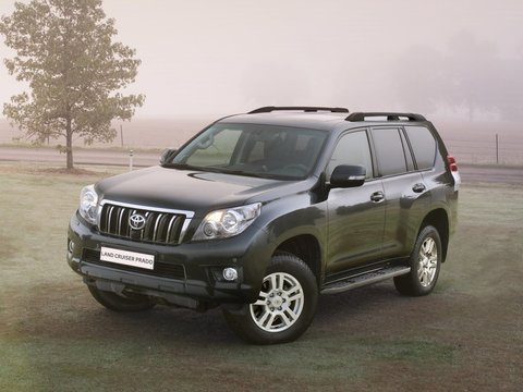 Чехлы на Toyota Land Cruiser Prado 150 2009–2017 г.в.