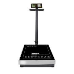 Весы торговые напольные Mertech M-ER 333ACLP-150.20/50 TRADER, 150кг, 20гр/50гр, 800*600, с поверкой, увеличенная платформа, складная стойка