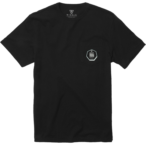 VISSLA Backward Fin Beach Grit Tee
