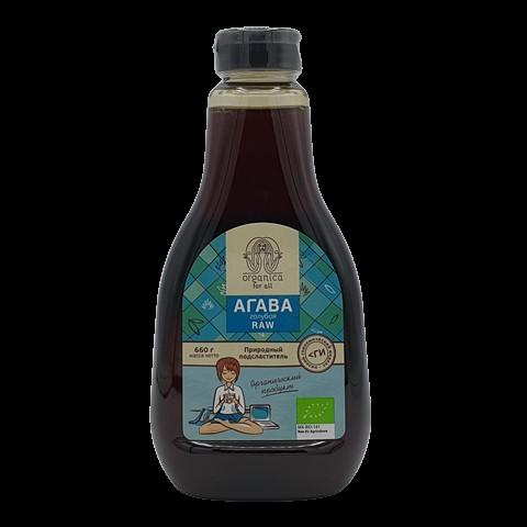 Сироп Агавы голубой органический ORGANICA for all, 660 мл
