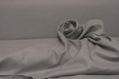 Широкая полульняная  ткань цвет КОФЕ С МОЛОКОМ