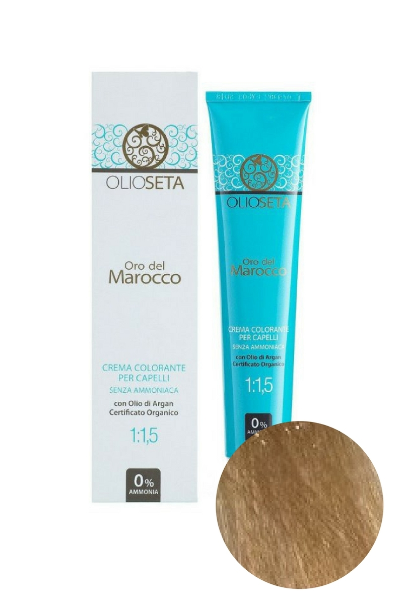 Крем-краска для волос 9.31 Супер светлый блондин бежевыйOro del Marocco, Barex