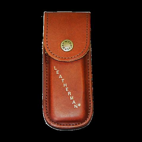 Чехол для мультитула Leatherman Rebar, Wingman, Rev, Sidekick, внутр.размер: 10X3,4X1,7 см, кожаный