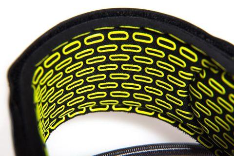 FCS 6' Freedom Leash Charcoal/Green