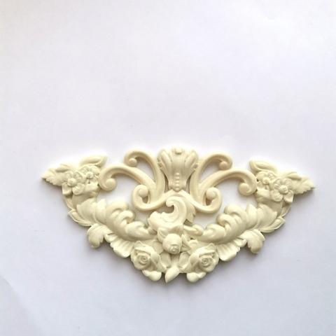 Отливка Арка с розами 15х7,5см, ОТЛ-РО-952, пластик