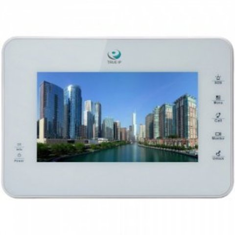 Монитор IP-видеодомофона TI-2760W (белый)