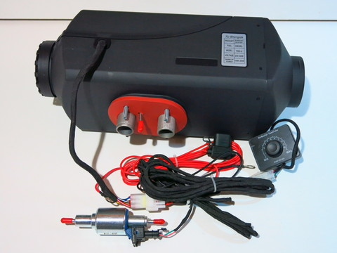 Автономный отопитель 5 кВт 24 вольта