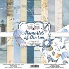 Набор скрапбумаги Memories of the sea 30,5x30,5 см 10 листов